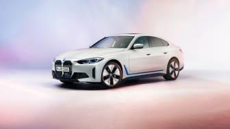 En første kikk på helt nye BMW i4