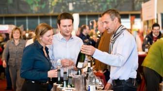 Weinverkostung auf der WeinMesse Rheinland-Pfalz
