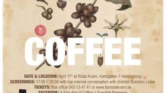 A Film About Coffee svensk premiär till Helsingborg