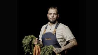 Kökschef Jonas Berg driver det numera IP-certifierade köket på Carotte