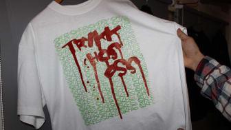 T-skjorte silketykk GatekunstAkademiet