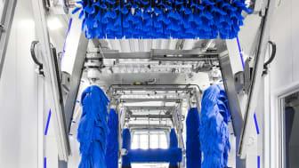 OKQ8 Trelleborg har en av Sveriges snabbaste biltvättar