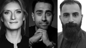 Lovisa Fhager Havdelin, Mustafa Panshiri och Hanif Bali