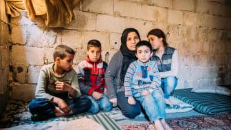 Geflüchtete Kinder in Syrien leiden unter besonderem Stress und psychischen Problemen durch die Corona-Pandemie. Foto: Alea Horst, Damaskus 2019 (Foto nur zur Verwendung im Kontext der SOS-Kinderdörfer weltweit)