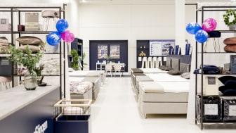 Den nya butiken utlovar ett antal uppgraderingar av butikskonceptet.