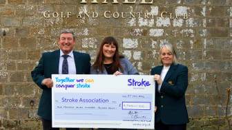 Cookridge Hall Golf Club tees off for the Stroke Association