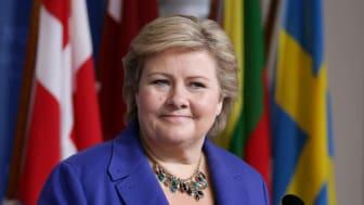 EuroPride 2014:  Erna Solberg åpner Pride Park