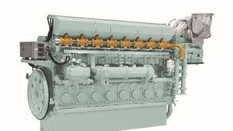 8EY26LDF Dual Fuel Marine Engine