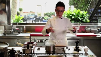 Carme Ruscalleda, an internationally renowned chef with seven Michelin stars