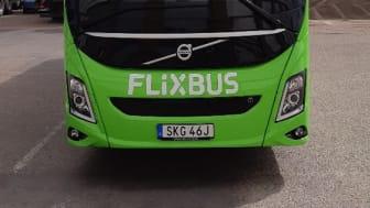 FlixBus får sin första Volvobuss