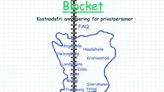 Blocket design 1996