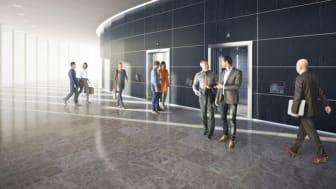 Hållbarhet i fokus när KONE levererar energieffektiva People Flow lösningar till SEBs nya kontor