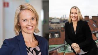 Victoria Swedjemark och Malin Jonsson är nya ledamöter i Compodiums styrelse.