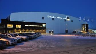 Sparbanken Lidköping Arena en av Sveriges allra största evenemangsarenor