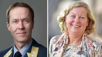 Generalmajor Inge Kampenes i Cyberforsvaret og Berit Svendsen i Telenor Norge har undertegnet en beredskapsavtale.