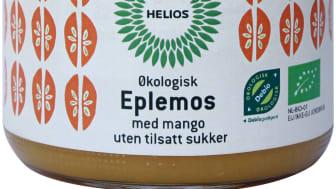 Helios eple og mangomos økologisk 360 g