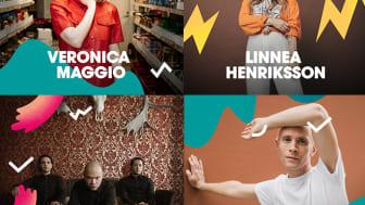 Popsensationer, svettig rock och unga stjärnskott i Malmöfestivalens sista musiksläpp!