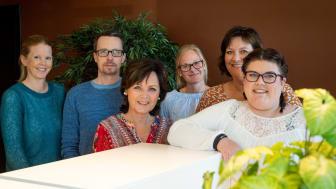 Bak venstre; Martine Linnestad, prosjektleder Höegh EIendom, Richard Wold, BPA, Heidi Josephson, BPA, Else-Kristin Andersen, BPA, Foran fra venstre: Wenche Grønsveen, Ecura, Katrine Balch-Barth, BPA
