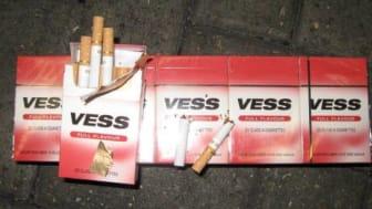 Op Indelible Vess cigarettes seized