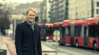 Stian Strøm Arnesen, trafikkanalytiker i Fjellinjen.