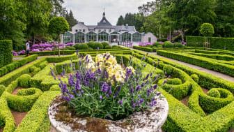 Norrvikens trädgårdar i Båstad är en av Swedish Gardens 35 medlemsparker. Rudolf Abelins livsverk är berömt för sina trädgårdar i olika stilar, skapade i början av 1900-talet. Foto: Nottvikens trädgårdar
