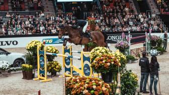 Douglas Lindelöw under Gothenburg Horse Show 2020. Foto: Johan Lilja