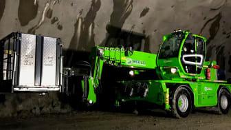 Senaste tillskottet hos Hedins Hjulgrävmaskiner AB är en Merlo R50.26 S Plus.