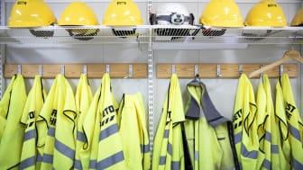 Regeringens mål är att var fjärde bygghjälm ska sitta på en kvinnlig medarbetare år 2030. Foto: Lo Birgersson, Göteborgs Stad