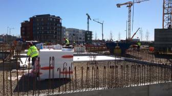 Rekord för bostadsbyggandet i Hyllie
