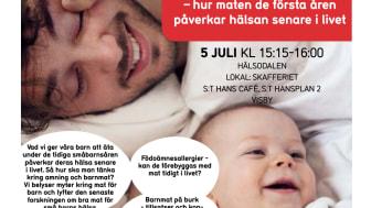 Semper i Almedalen: Vad är bra mat för små barn?