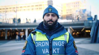 """Securitas nominerad i Inhousetävlingen 2019 med den digitala rekryteringskampanjen """"Vilken uniform passar dig?"""" Foto: Securitas Sverige AB."""