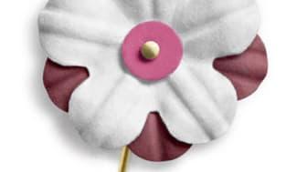 Hemlig gäst köper årets första majblomma imorgon 17 april