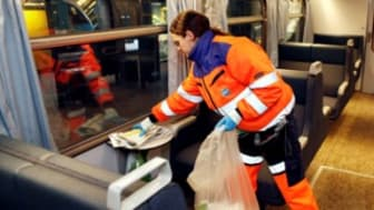 DSB sparer tocifret millionbeløb på rengøring af tog
