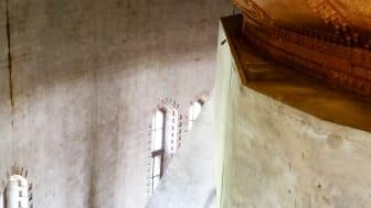 Insidan av Södervärns vattentorn i Malmö