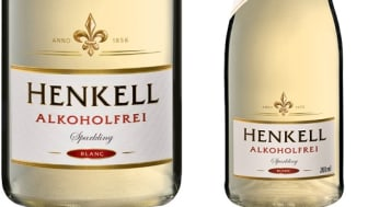 Henkell alkoholfri 750 ml & 200 ml