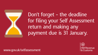 Do your Self Assessment online, don't miss the deadline