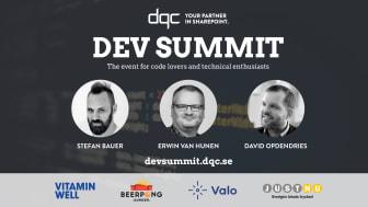 DQC Dev Summit 25 oktober