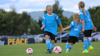 Det har vært en gledelig økning i antall jenter på fotballfritidsordningen Telenor Xtra dette skoleåret.