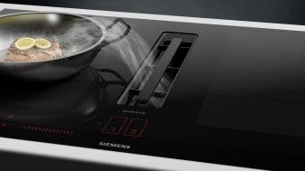 inductionAir Plus-systemet låter dig skapa ditt kök utan begränsningar och ger dig full frihet i köksplaneringen.