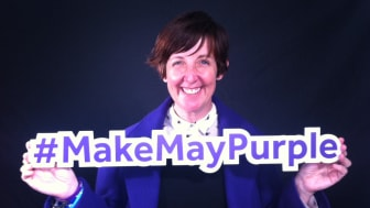 Local stars urge people of Manchester to Make May Purple