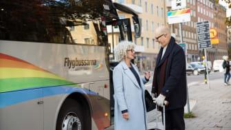 Vy Flygbussarna utökar sin flygbusstrafik på två av sina linjer.