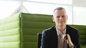 Scandics handikappambassadör Magnus Berglund talar på Jämtland Härjedalens turism 3 december