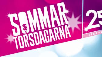 För första gången livestreamas Sommartorsdagarna®