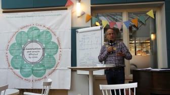 Lennart Nolvall ansvarar för implementeringen av CHS på Svenska missionsrådet.