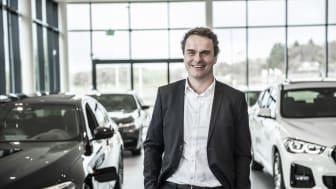 Stig Saeveland, CEO, Hedin Automotive Norwegen.