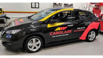 Nu kan du låna en elbil när du byter din vindruta hos Carglass®