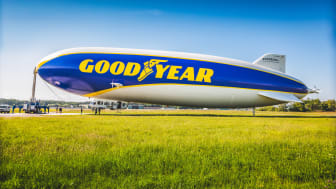 Goodyear Blimp återvänder till europeisk motorsport