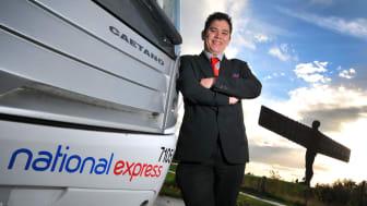 National Express coach driver, Simon Lee.