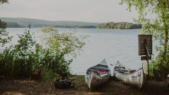 Nordiske mesterskaber eller stille og rolig tur, som her på Ivösjön. Foto: Mickael Tannus