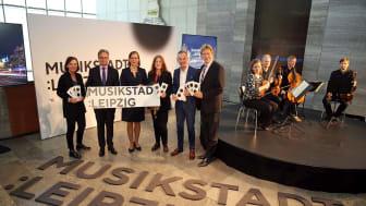 Gemeinsam für die Musikstadt Leipzig - Präsentation der Dachmarke - Foto: Andreas Schmidt